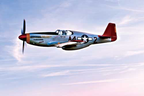P 51 Red Tails Gallery For > Tuske...