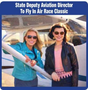 State Deputy Aviation Director To Fly In Air Race Classic