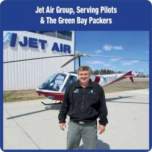 Jet Air Group, Serving Pilots & The Green Bay Packers