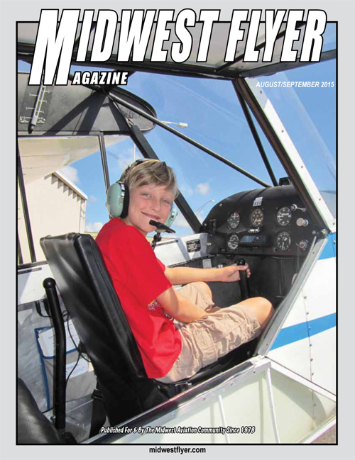 Midwest Flyer Magazine - June/July Cover