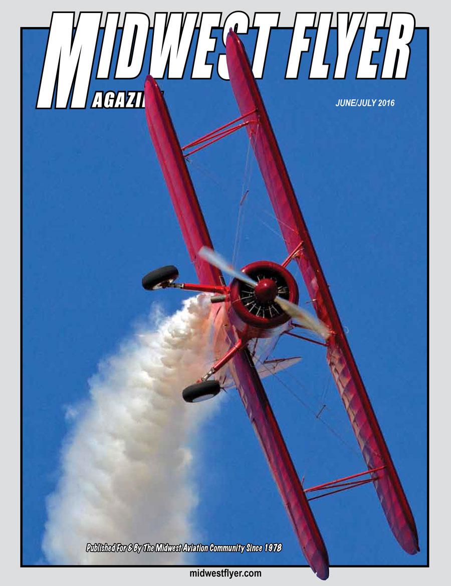 Midwest Flyer Magazine - Jun/Jul Cover