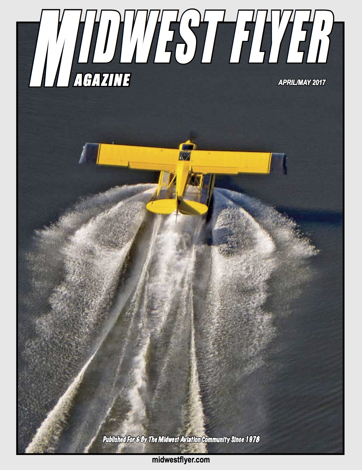 Midwest Flyer Magazine - April/May Cover
