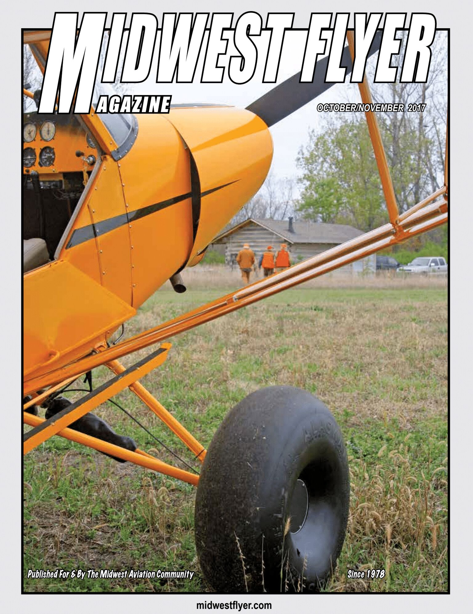 Midwest Flyer Magazine - October/November Cover