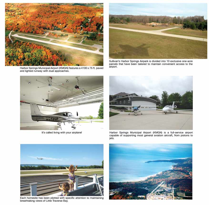 Sullivan S Harbor Springs Airpark A Pilot S Home Or Weekend